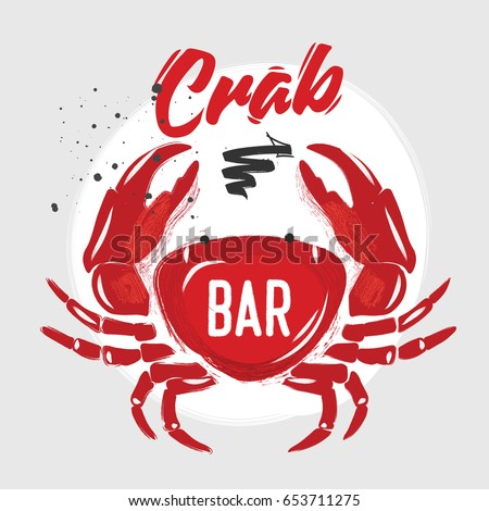 Crab Sign Stock Images, Royalty-Free Images & Vectors   Shutterstock