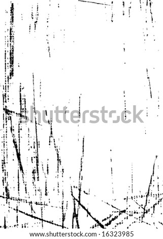 Chalk strokes and scratches. Check my portfolio for similar design elements! - stock vector