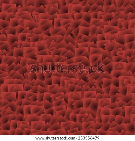 Chaos red vector background - stock vector
