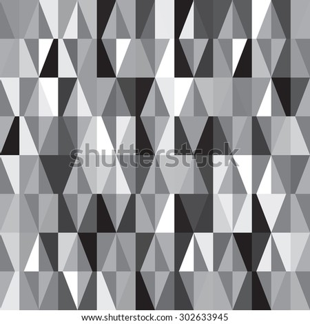 chaotic seamless pattern - stock vector
