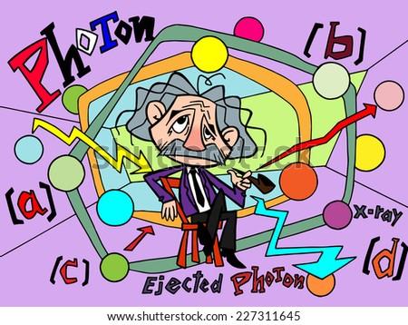 Character design cartoon of Intelligent men no.1+3 - stock vector