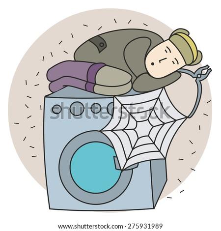 Clip Art Maintenance Washer Machine