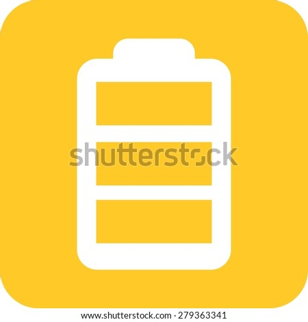 Charging, battery, cell icon vector image. Can also be used for energy and technology. Suitable for web apps, mobile apps and print media. - stock vector