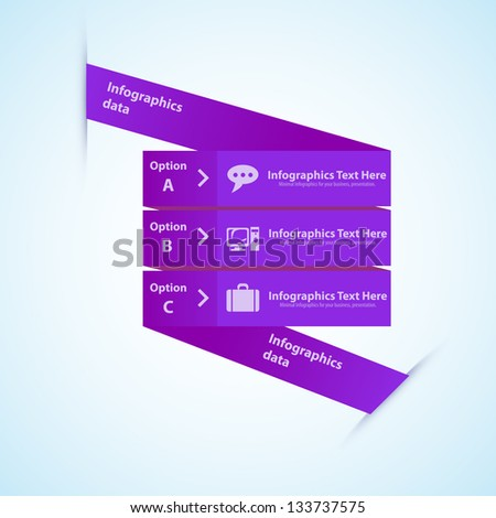 chart for documents and reports - stock vector