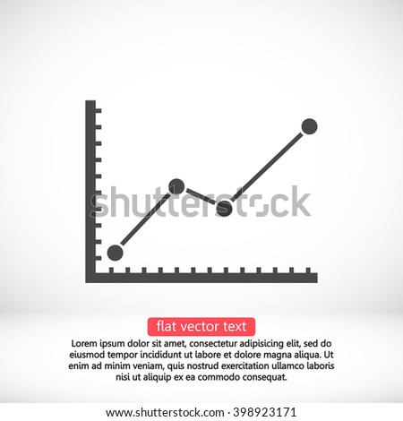 Chart top icon, chart top pictograph, chart top web icon, chart top icon vector, chart top icon eps, chart top icon illustration, chart top icon picture, chart top flat icon, chart top design icon - stock vector
