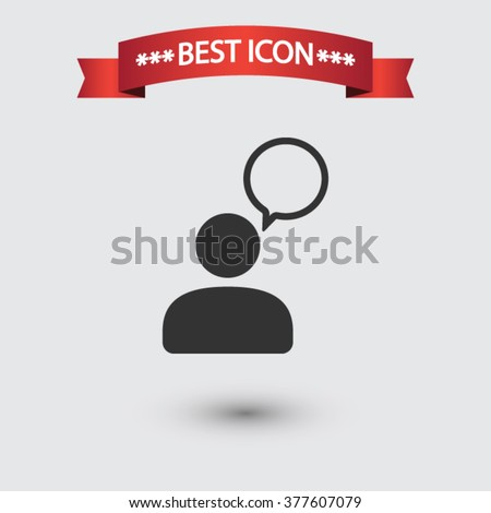 Chat icon vector, chat icon eps10, chat icon picture, chat icon flat, chat icon, chat web icon, chat icon art, chat icon drawing, chat icon, chat icon jpg, chat icon object, chat icon illustration - stock vector