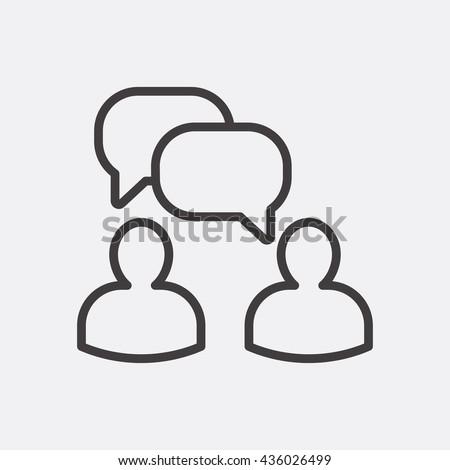 Chatting Icon, Chatting Icon Eps10, Chatting Icon Vector, Chatting Icon Eps, Chatting Icon Jpg, Chatting Icon, Chatting Icon Flat, Chatting Icon App, Chatting Icon Web, Chatting Icon Art, Chatting - stock vector