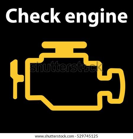 Check Engine Light Stock Images RoyaltyFree Images  Vectors - Car signs on dashboard