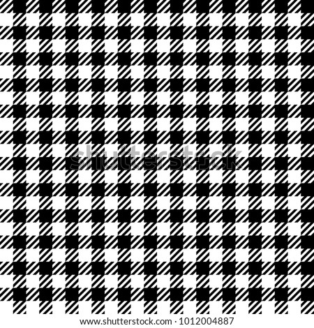 Check Fashion Tweed White And Black Seamless Pattern For Textile Prints Wallpaper Wrapping