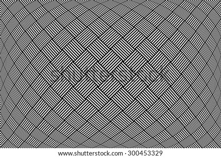 Checked pattern. Abstract textured geometric background. Vector art. - stock vector
