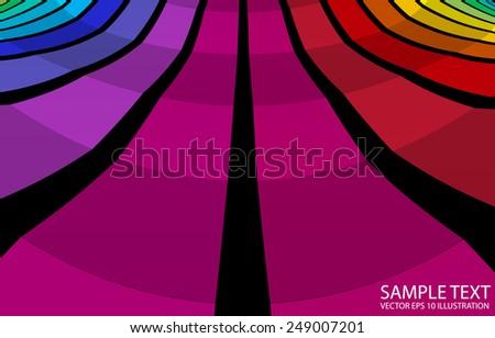 Checkered abstract vector background illustration - Colorful checkered abstract background template - stock vector
