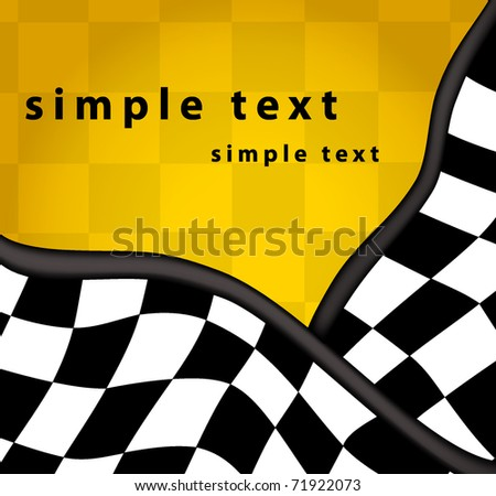 Checkered background - stock vector