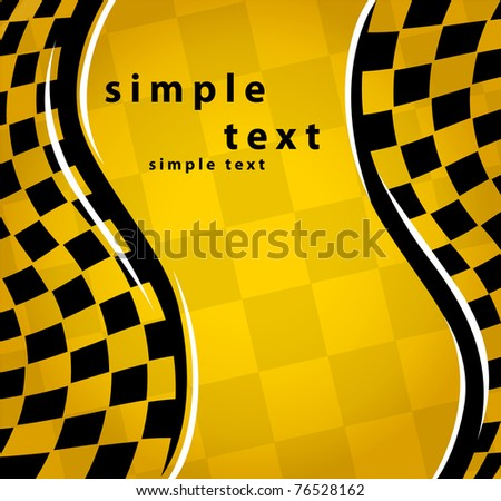 checkered background. EPS10 - stock vector
