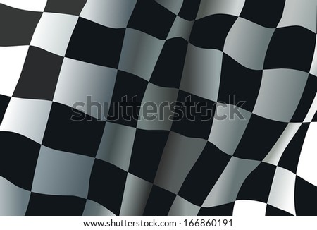 Checkered race flag background