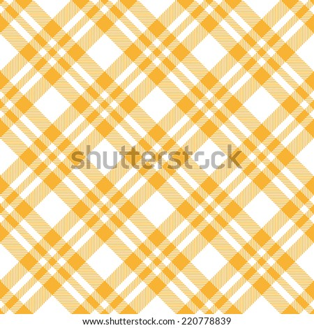 Checkered Tablecloths Pattern YELLOW   Endless
