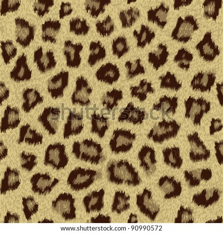 cheetah fur repeating pattern tile