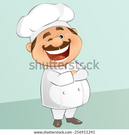 Chef - stock vector