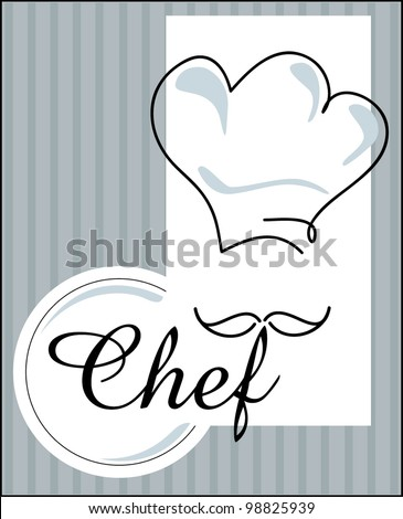 chef - stock vector