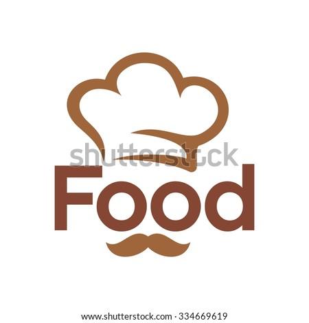 chef logo. restaurant logo. vector icon. - stock vector