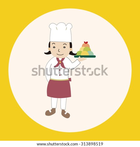 chef theme elements vector,eps