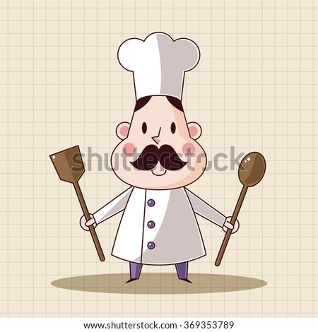 chef theme elements vector,eps - stock vector