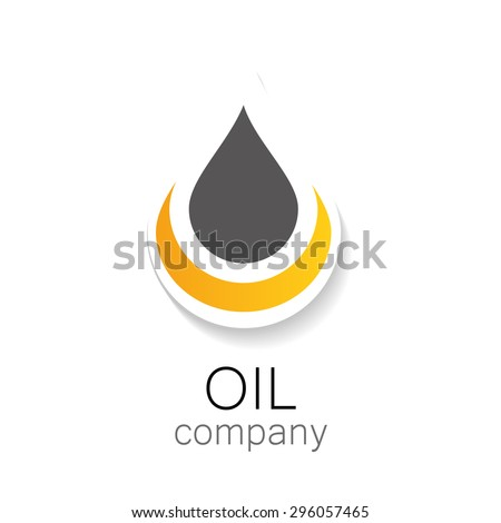 Chemical and oil industries. Logo Design. - stock vector