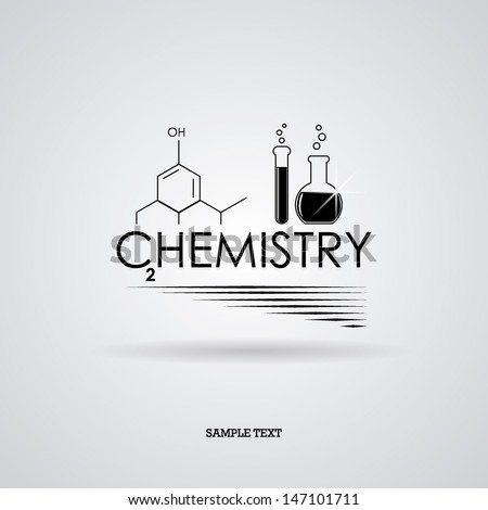Chemistry. Vector illustration - stock vector