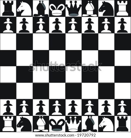 chess - stock vector