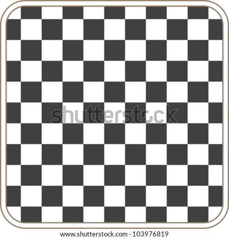 chess background - black and white colors - stock vector