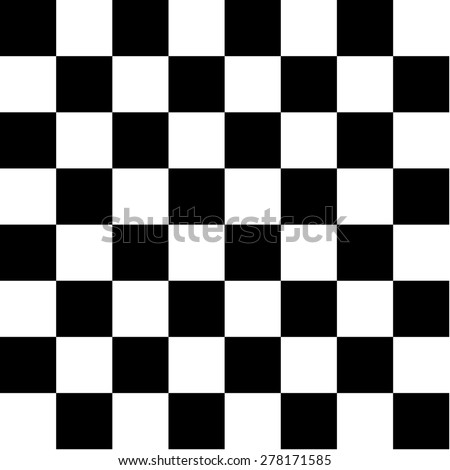 Chess board - stock vector