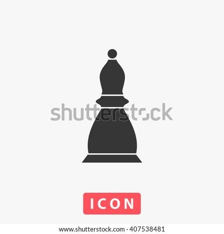 Chess Icon.  - stock vector