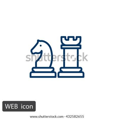 Chess Icon. Chess Icon Vector. Chess Icon Art. Chess Icon eps. Chess Icon Image. Chess Icon logo. Chess Icon Sign. Chess Icon Flat. Chess Icon design. Chess icon app. Chess icon UI. icon Chess web - stock vector