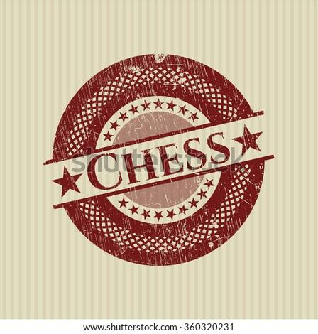 Chess rubber texture - stock vector