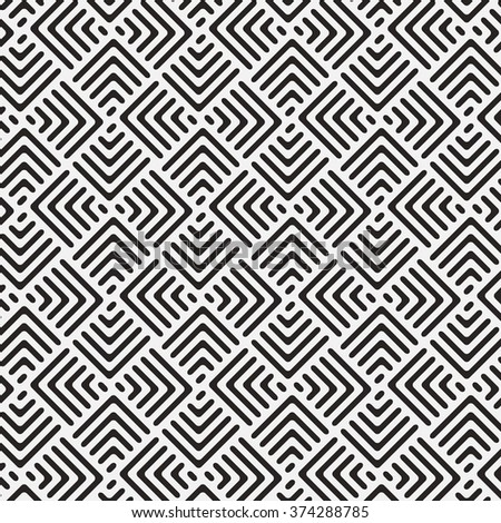 chevron rounded corner, vector pattern.