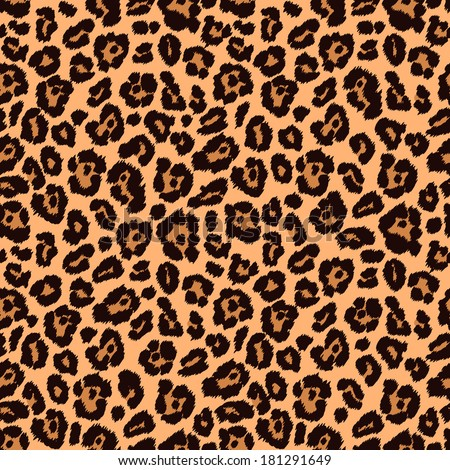 Chic vector seamless patterns (tiling). Animal print, leopard texture. Endless texture can be used for printing onto fabric and paper or scrap booking. Can be used as web sites backdrop.