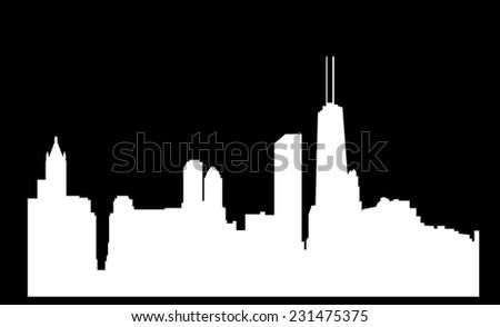 Chicago - stock vector