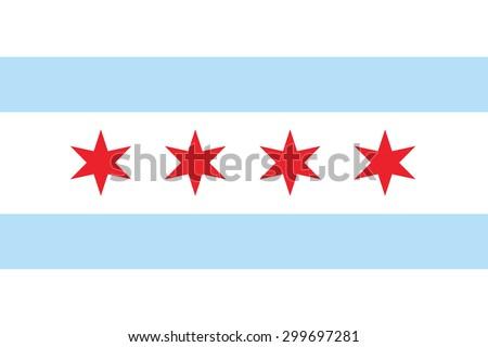 chicago flag vector stock vector 529035916 - shutterstock