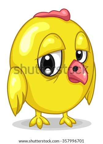Chick - stock vector