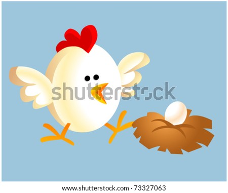 Egg Vector Logo Chicken And Egg
