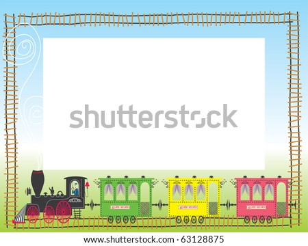 Child framework with train