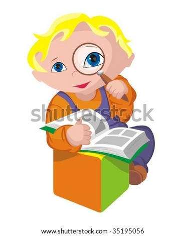 Child - scientific - stock vector