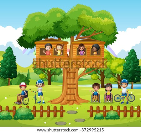 Kids Treehouse Stock Images Royalty Free Images Amp Vectors