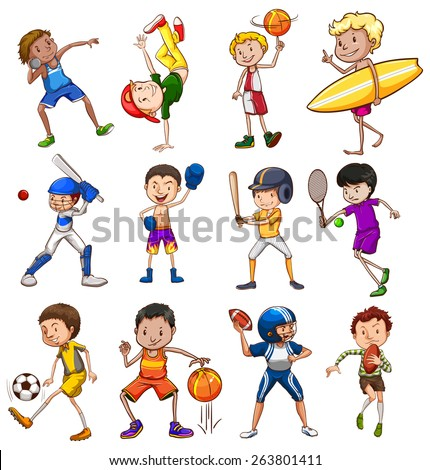different kinds of sports Choosing the right sport for you your doc will be able to give you health clearance to participate in the different types of physical activities.