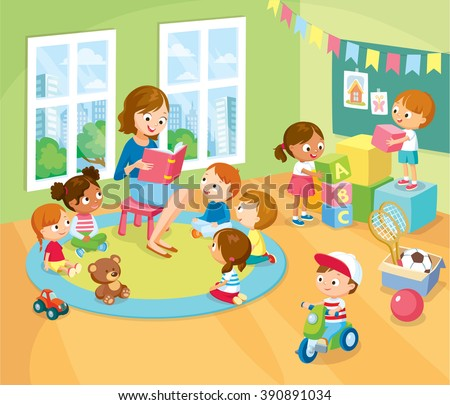Seductive Childrens Activity Kinder Garden Reading Books Stock Vector  With Foxy Childrens Activity In The Kinder Garden Reading Books Playing Education With Easy On The Eye Metal Garden Arbours Uk Also Garden Rooms Prices In Addition Mexican Garden Ideas And Garden Drawing Images As Well As Wooden Garden Edging Ideas Additionally Car Parking Kew Gardens From Shutterstockcom With   Easy On The Eye Childrens Activity Kinder Garden Reading Books Stock Vector  With Seductive Garden Drawing Images As Well As Wooden Garden Edging Ideas Additionally Car Parking Kew Gardens And Foxy Childrens Activity In The Kinder Garden Reading Books Playing Education Via Shutterstockcom