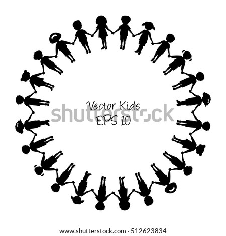 People Holding Hands In A Circle