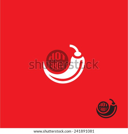 Chilli pepper icon - stock vector