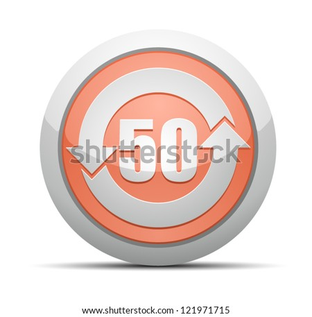 China RoHS Label EPUP 50 - stock vector