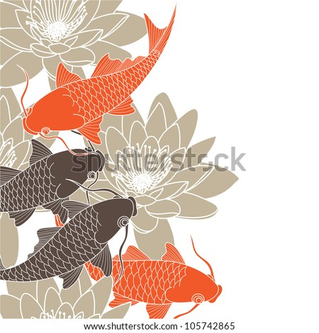 chinese background - stock vector