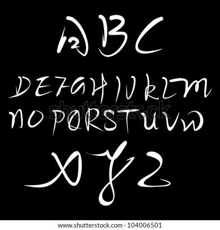 chinese calligraphy english...