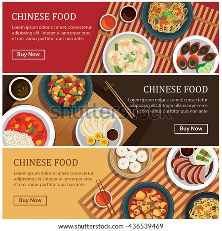 chinese food banner design -#main